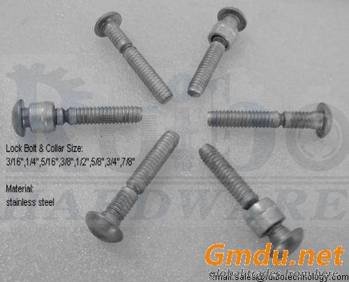 304 stainless steel fastener lock bolt