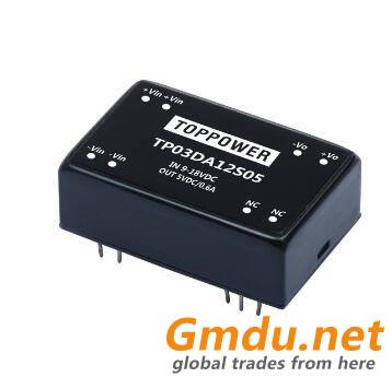 3W Wide Range Input Voltage DC/DC Converters TP03DA