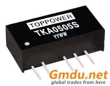 1W 3KV Isolated Miniature Dual Output DC/DC Converters TKA