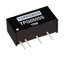 2W Isolated Single Output DC/DC Converters TPG