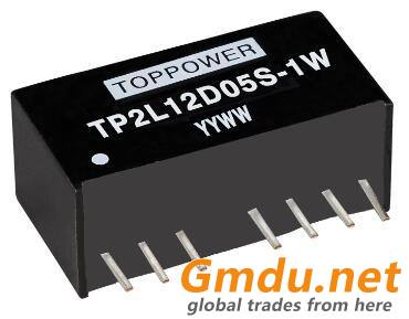 1W Isolated Wide Input Single And Dual Output DC/DC Converters TP2L-1W