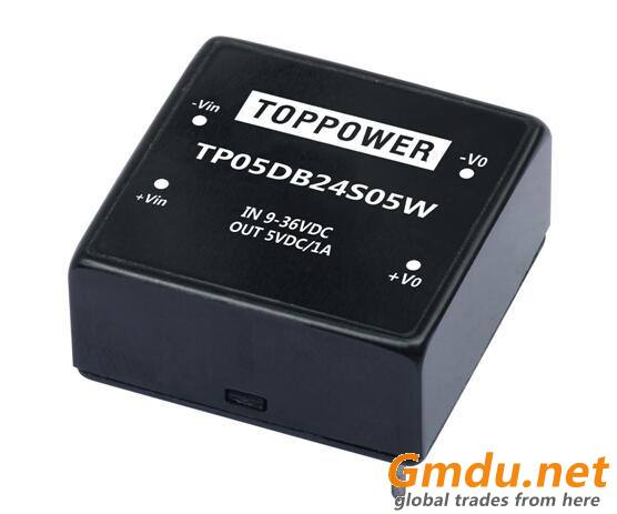 5W Wide Voltage Input DC/DC Converters TP05DB