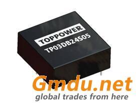 3W Wide Range Input Voltage DC/DC Converters TP03DB