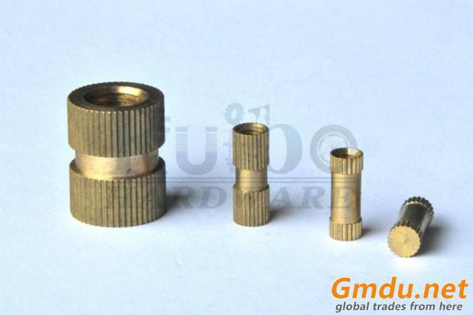 High precision brass Knurl nut