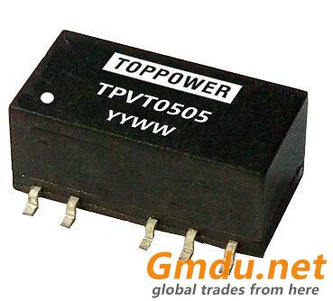 1W 3KVDC Isolated SMD DC/DC Converters TPVT