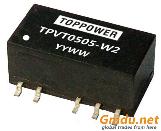 0.25W 3KVDC Isolated SMD DC/DC Converters TPVT-W2