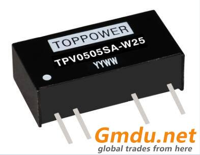 0.5W 3KVDC Isolated DC/DC Converters TPV-W5