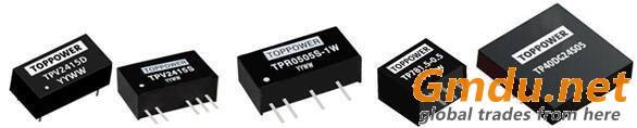 2W 6KVDC Isolated DC/DC Converters TPJ-2W