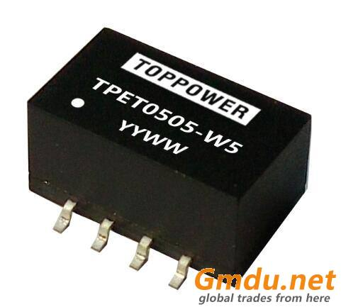 0.5W 3KVDC Isolated SMD DC/DC Converters TPET-W5