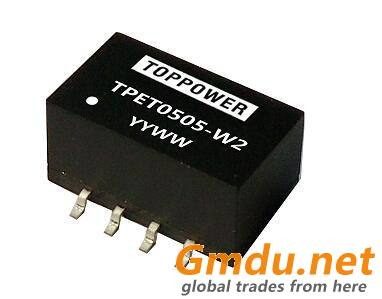 0.25W 3KVDC Isolated SMD DC/DC Converters TPET-W2