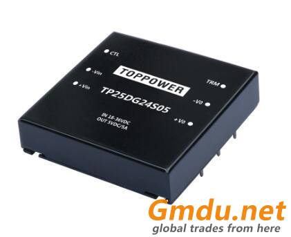 25W Wide Input Voltage DC/DC Converters TP25DG