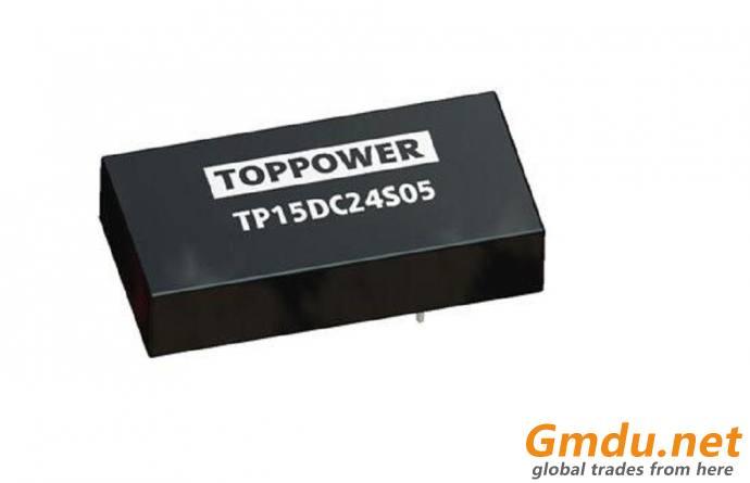15W Wide Input Voltage DC/DC Converters TP15DC