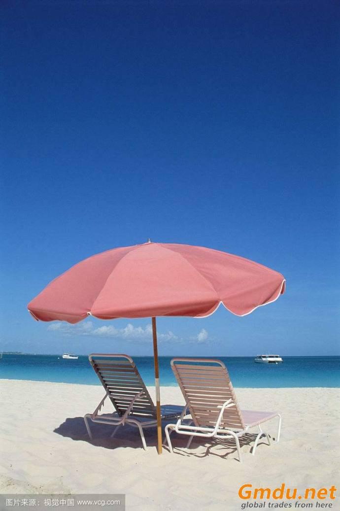 Large Size Sun Parasol Promotional Beach Umbrella