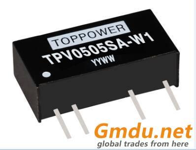 0.1W 3KVDC Isolated DC/DC Converters TPV-W1
