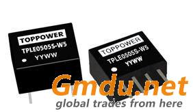 0.5W Isolated Single Output DC/DC Converters TPLE-W5