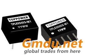 0.1W Isolated Single Output DC/DC Converters TPLE-W1