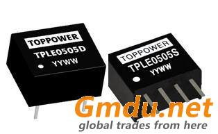 0.25W Isolated Single Output DC/DC Converters TPLE