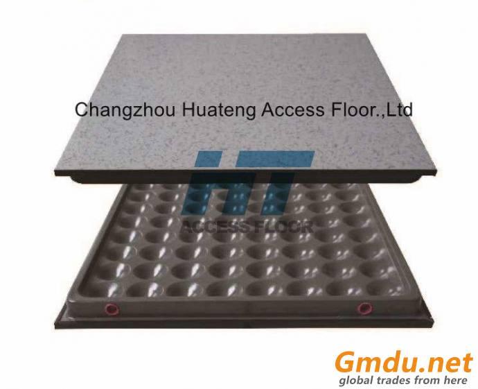 Antistatic HPL/PVC Raised Access Floor