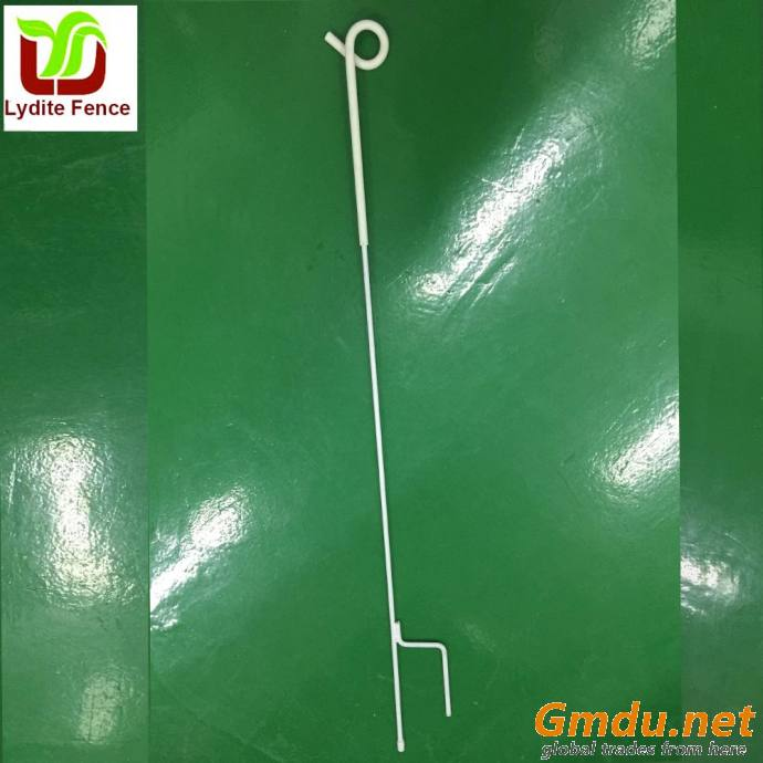 Lydite Spring Steel Pigtail Post With Pigtail Insulator