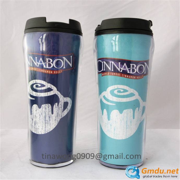 Double Wall Coffee Mug Starbucks With Paper Insert Paper
