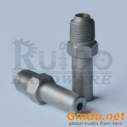 CNC lathe tube nut