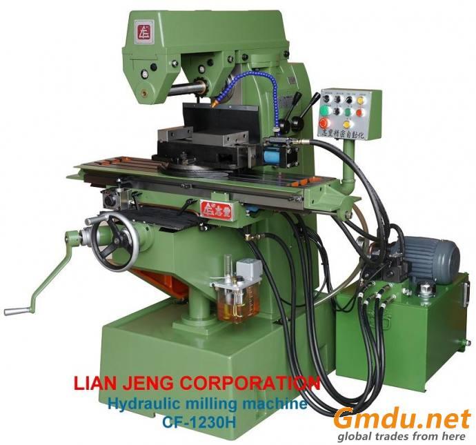 Hydraulic milling machine CF-1230H (LIAN JENG CORP)