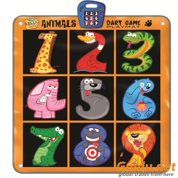 Animals Dart Game Mat