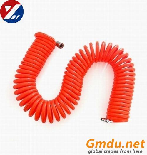 polyurethane pneumatic coil/spiral/spring air hose/tube/tubing