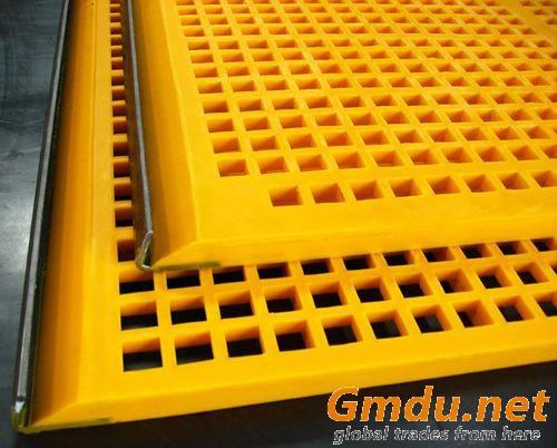 polyurethane dewatering/vibrating/shaking screen/mesh panel