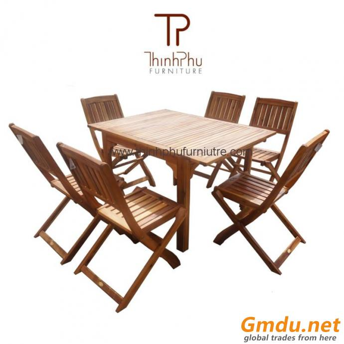 Wood Outdoor Garden Set