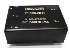 15W 2.5KV isolated DC/DC converters TP15DU