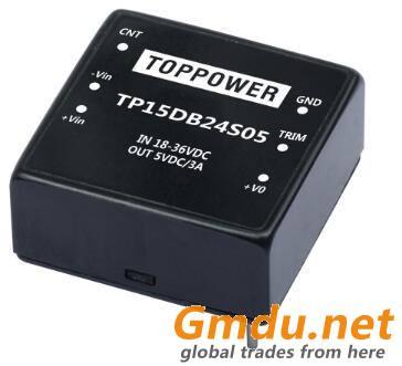 15W 1.5KVDC Wide Voltage Input DC/DC Converters