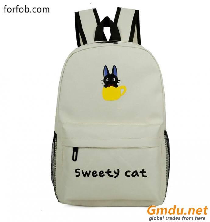 canvas bag lady bag travel backpack
