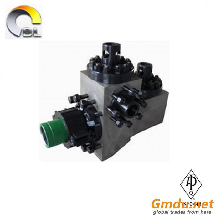 Triplex mud pump module