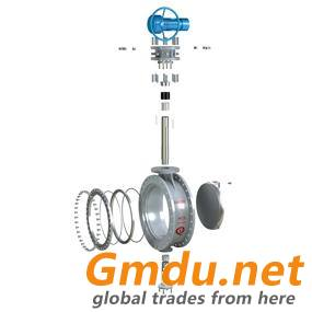 Bi-directional sealing butterfly valve