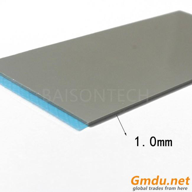 6.0w/m-k high conductivity silicone pad for CPU