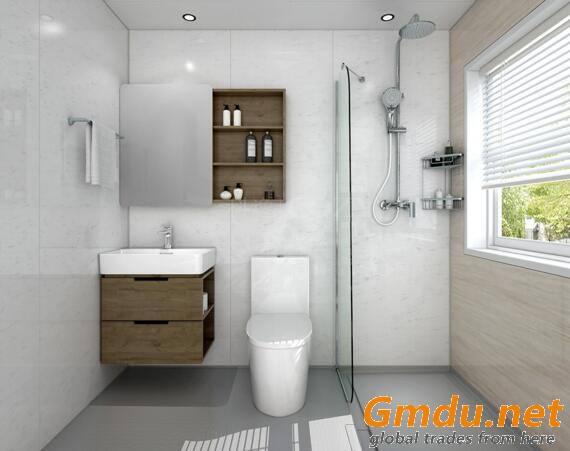 SMC molded bathroom products