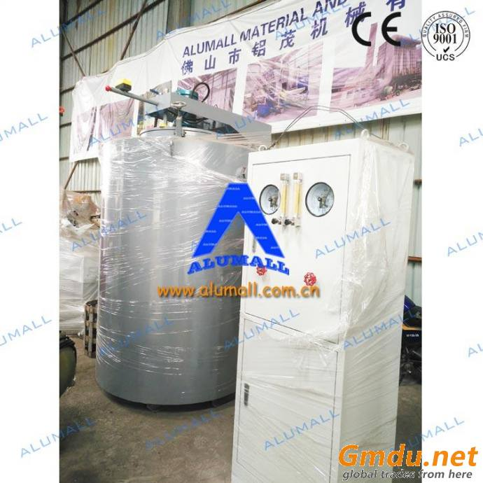PLC control 75kw ammonia gas nitriding furnace for casting extrusion dies