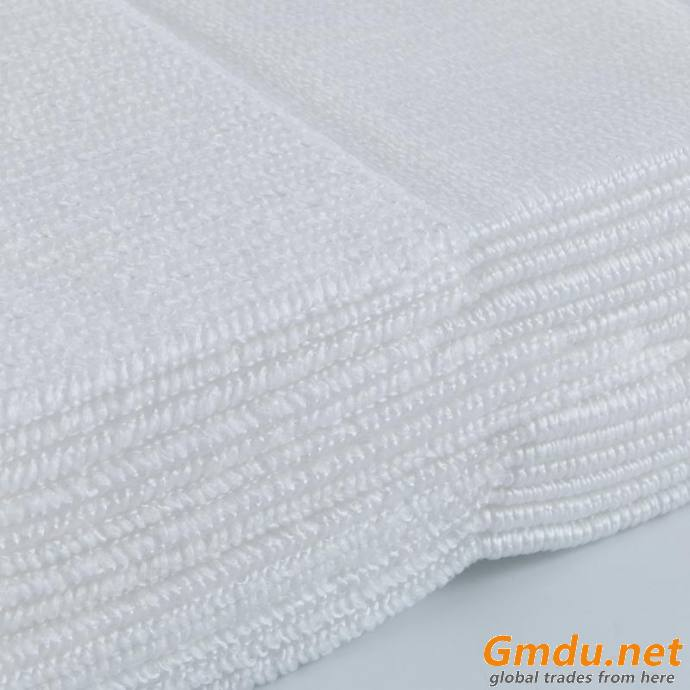 Antibacterial Single Use Microfiber Cleaning Cloth For Hospital