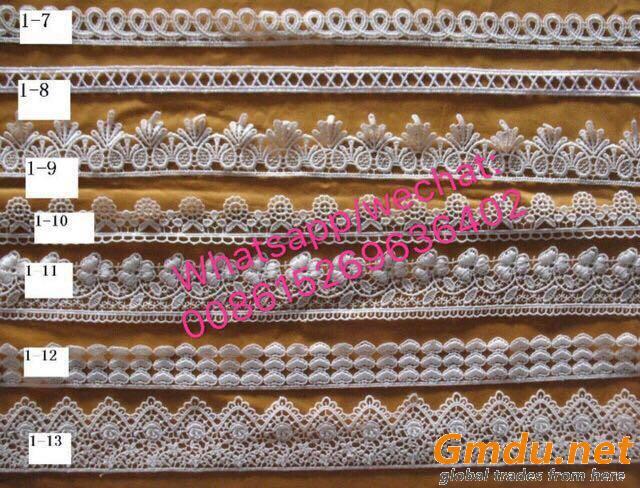 chemical lace trim