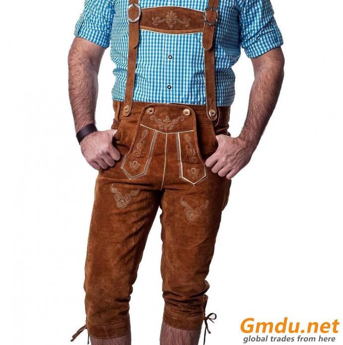 Bavarian Long Lederhosen
