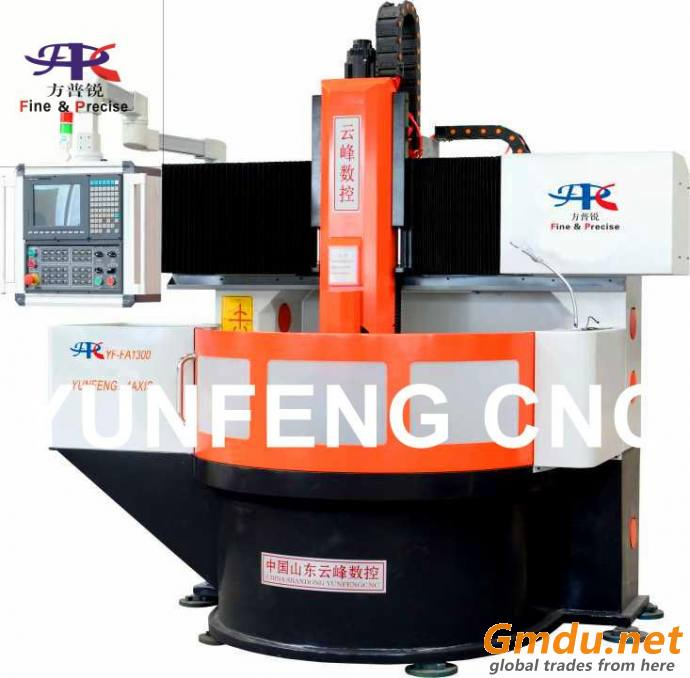 FOUR-AXIS CNC ENGRAVING MACHINE FOR TIRE MOLD SIDEWALL