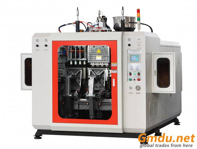 fully automatic hollow blow molding machine