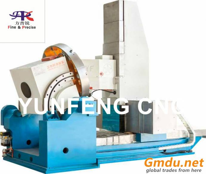 FIVE-AXIS CNC PATTERN MILLING MACHINE FOR TIRE MOULD