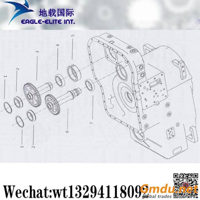XCMG ZL50G Loader Gearshift Control Valve Transmission Housing