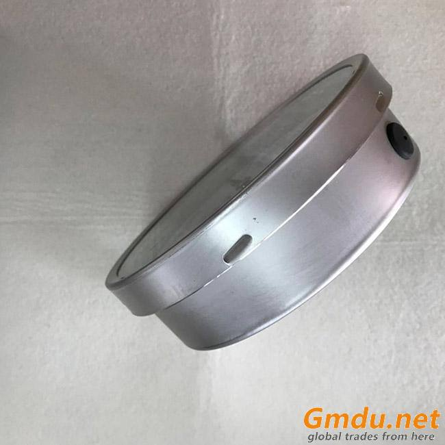 Bayonet Ring Bezel Bourdon Tube Pressure Gauge