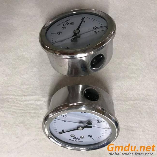 Metal Color And 63mm Dial Face Pressure Gauge