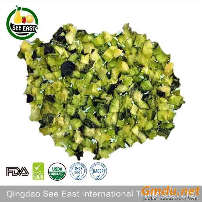 Sample free soup ingredient dry food freeze dried cucumber