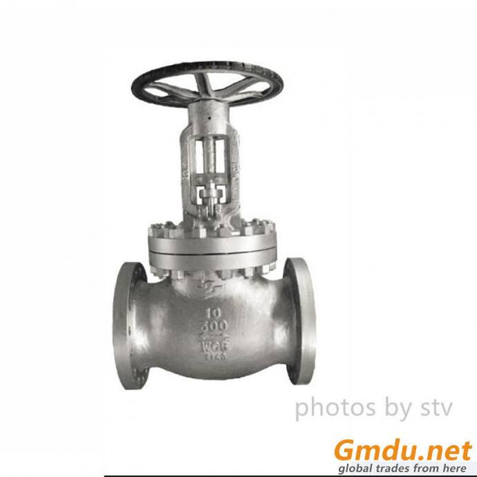 ASTM A216 Cast Steel Globe Valve,24 Inch, Rising Stem, 150LB, RF