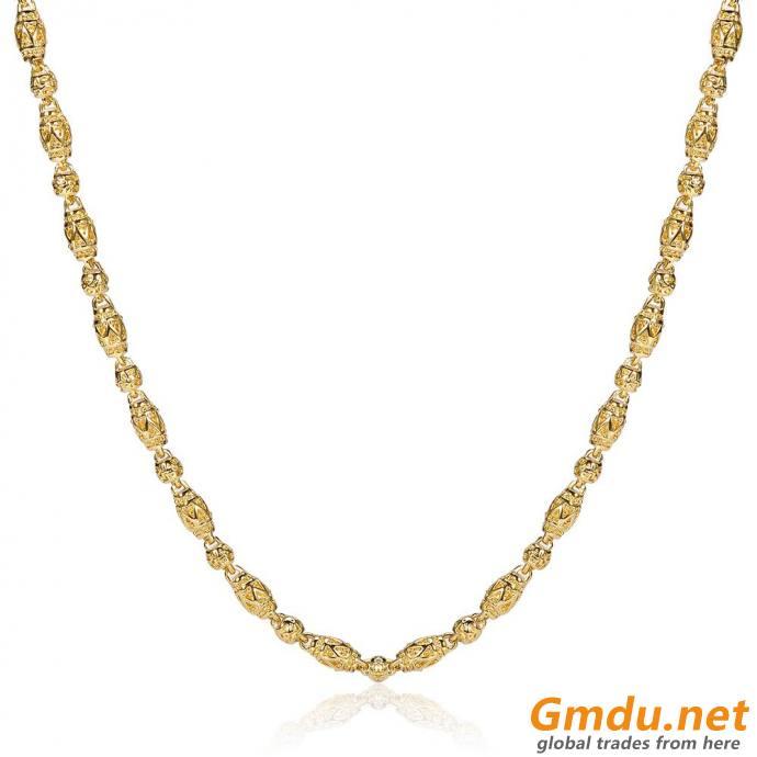 custom hiphop long gold chain for men